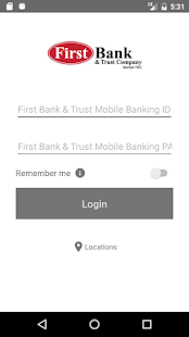 First Bank & Trust Mobile Bank - náhled