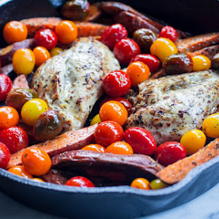 Paleo Chicken & Sweet Potato Bake