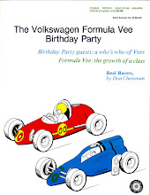 Photo: Formula Vee 20 Anniversary Program Contributed by Jim Schings