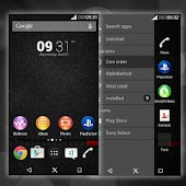Xperia Black Theme