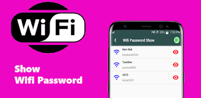 Show Wifi password wep wpa wpa2 - Free Android app | AppBrain