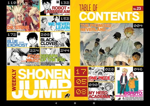Shonen Jump Manga & Comics 4.1.4 Screenshots 8