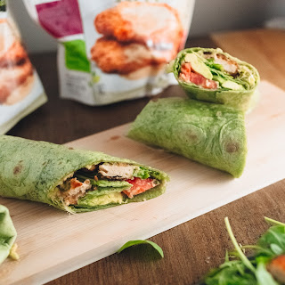 Spinach Veggie Wraps With Meatless Turk'y AND A GIVEAWAY!