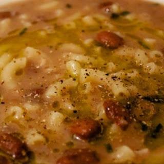Pasta and Fagioli