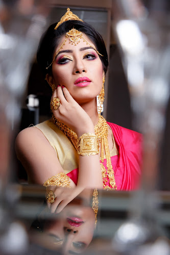 Portrait of a Jewellery Model  by Faisal Enam - People Portraits of Women ( gold jewellery, model, bangladesh, jewellery, portrait )