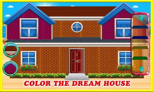 Beach Dream House Construction – Decorating Games - náhled