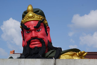 Photo: General Qin , a chinese temple still under construction