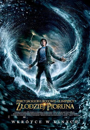Polski plakat filmu 'Percy Jackson i Bogowie Olimpijscy: Złodziej Pioruna'