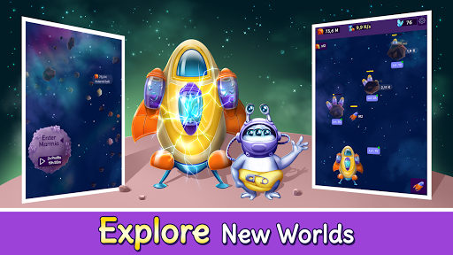 Code Triche Idle Planet Tycoon: Idle Space Incremental Clicker APK MOD screenshots 5