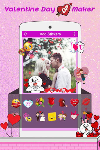 Valentine DP Maker 2018: Love Profile Maker 1.13 screenshots 4