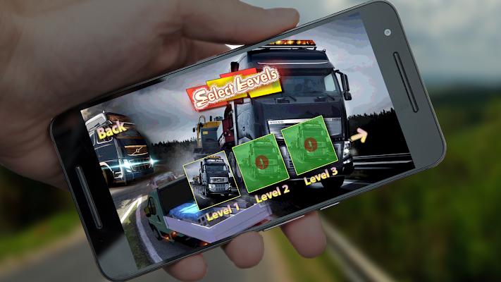 3D Cargo Truck Transporter - screenshot