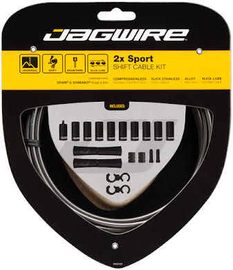 Jagwire 2x Sport Shift Cable Kit SRAM/Shimano alternate image 13