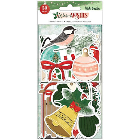 Vicki Boutin Ephemera Cardstock Die-Cuts - Warm Wishes Icons