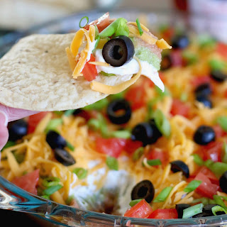 The Best 7-Layer Dip.