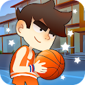 Kids basketball: Dunk Court icon