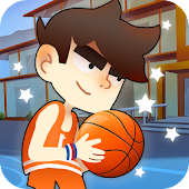 Kids basketball: Dunk Court