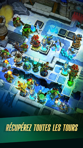 Defenders 2: Tower Defense CCG  captures d'u00e9cran 1