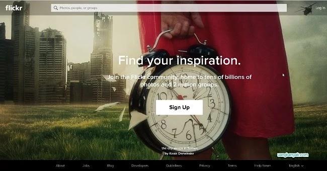 penyedia gambar gratis flickr untuk keperluan blogging