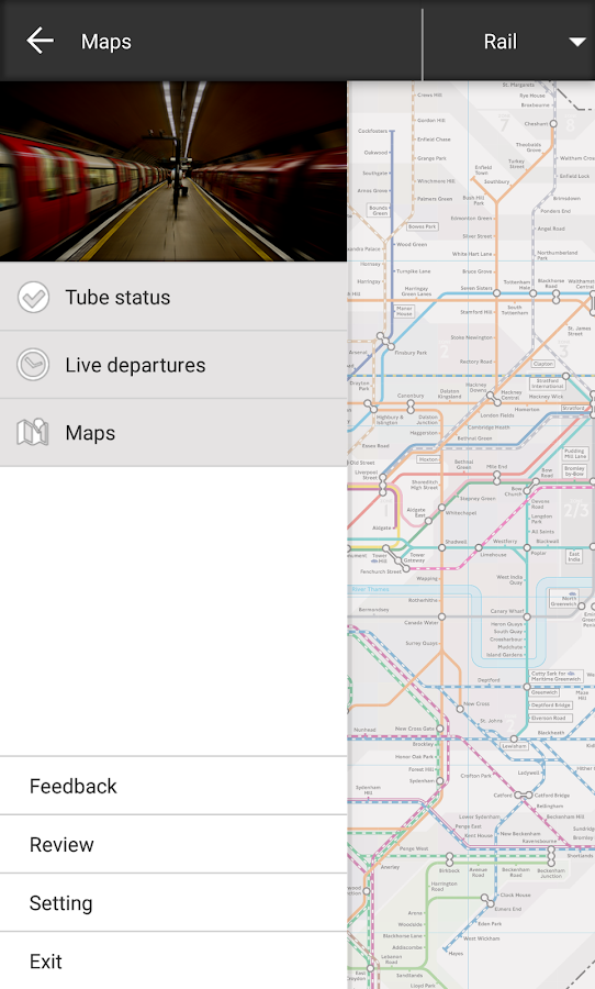 London Tube Master +- screenshot