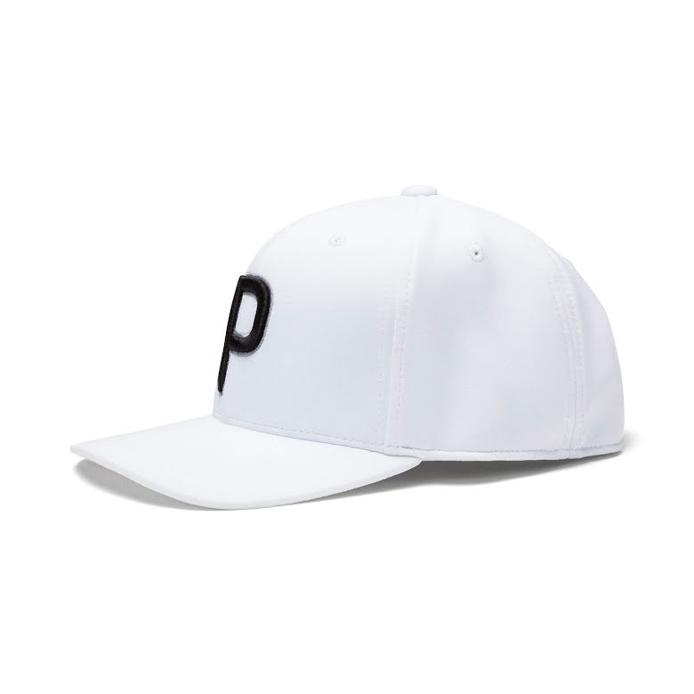 Puma Golf P110 Snapback Cap White Junior