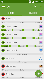 Advanced Download Manager Pro - náhled