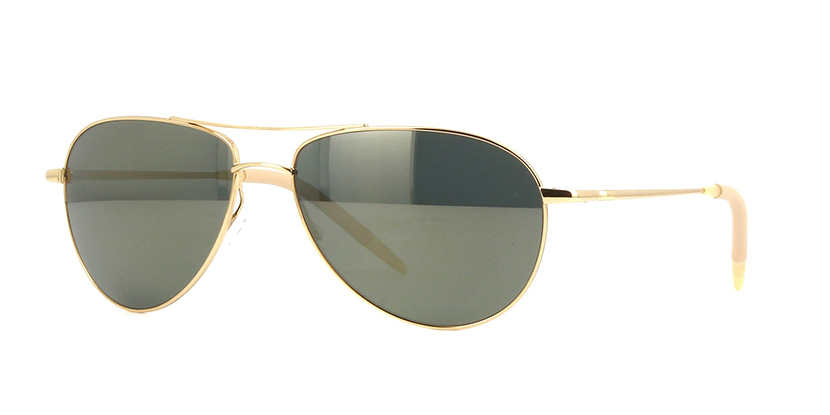 Oliver Peoples Benedict OV1002S 5264/O9 Polarised VFX Gold Plated  Sunglasses | Pretavoir