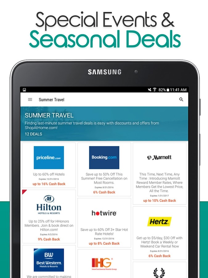 ShopAtHome Cash Back Amp Coupons Android Apps On Google Play