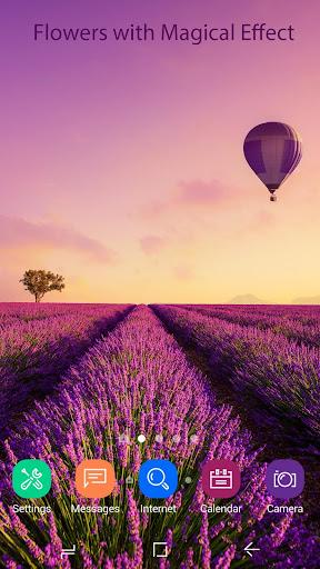 Lavender Live Wallpaper HD 2.2.0.2235 screenshots 2
