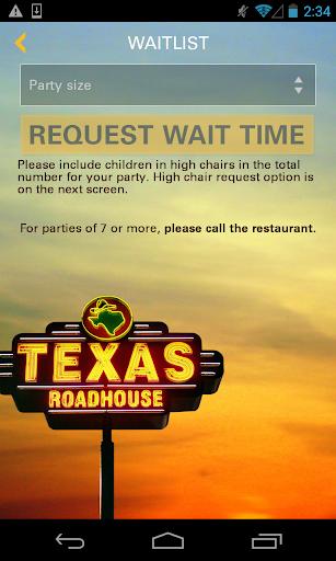 Texas Roadhouse Mobile  screenshots 5