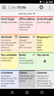 ColorNote Notepad Notes screenshot 07