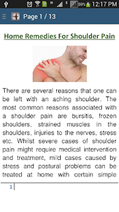 Rid of Shoulder Pain Remedies - náhled