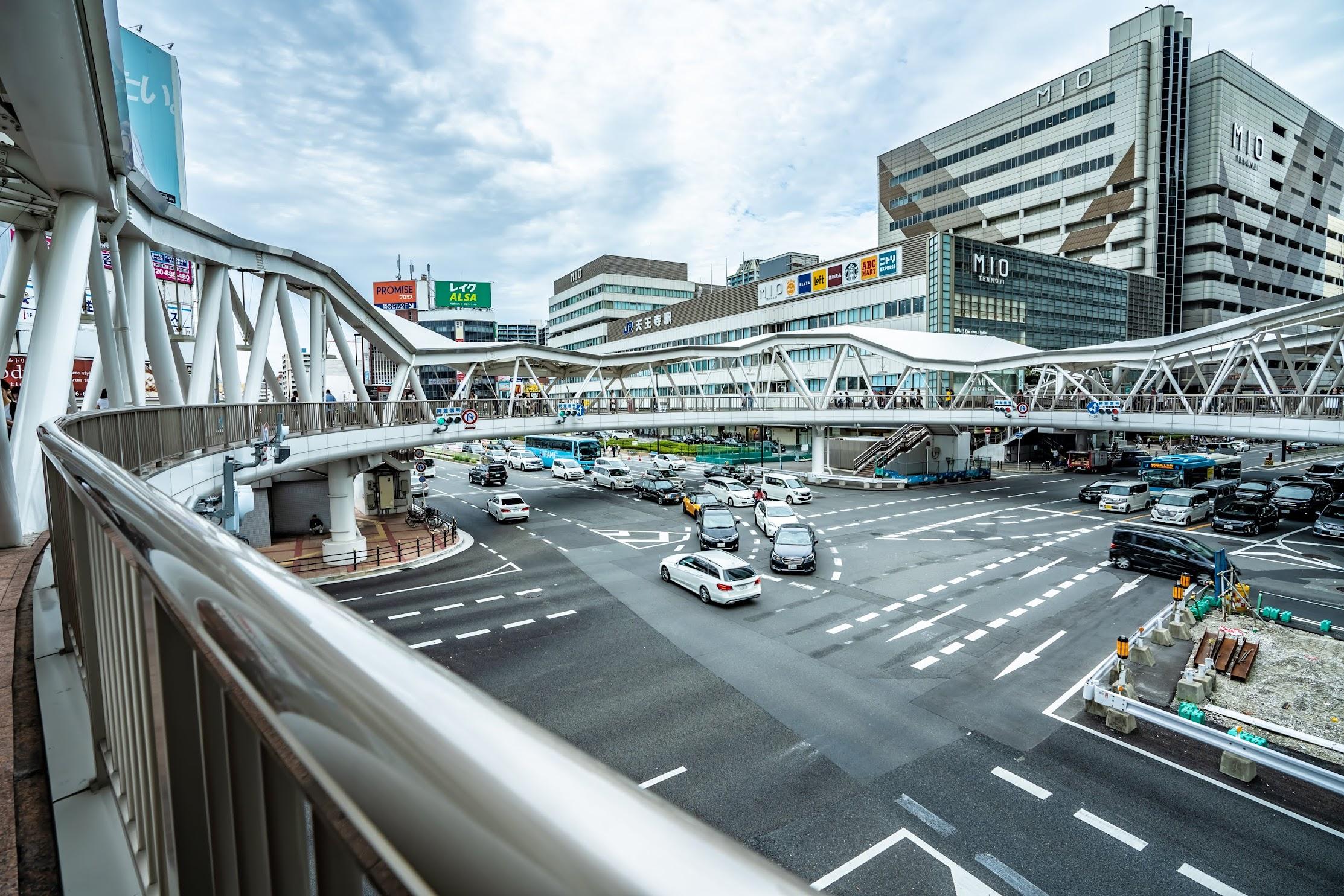 阿倍野歩道橋2