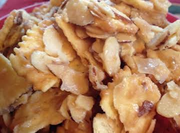 Ritz Chips and Almonds Brickle
