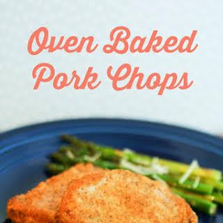 Oven Baked Pork Chops.