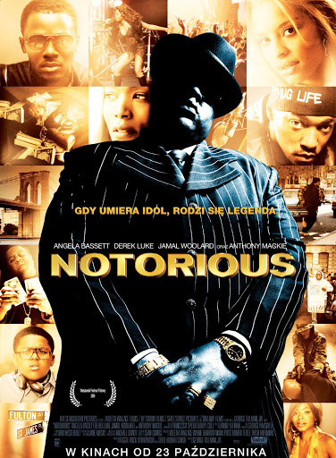 Polski plakat filmu 'Notorious'
