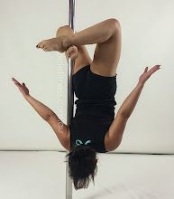 Photo: Anna Nguyen - Flipper Handstand with No Handed Box extension - Vertical Pole Gymnastics @ Pole Fitness Studios