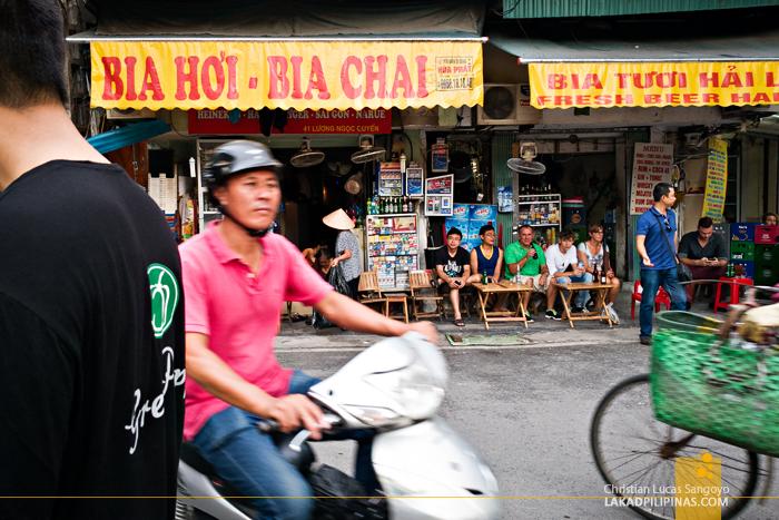 Ta Hien Crossroad Hanoi Vietnam