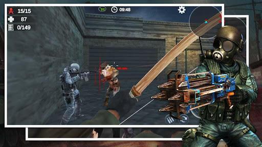 Zombie 3D Gun Shooter- Real Survival Warfare 1.1.8 screenshots 15
