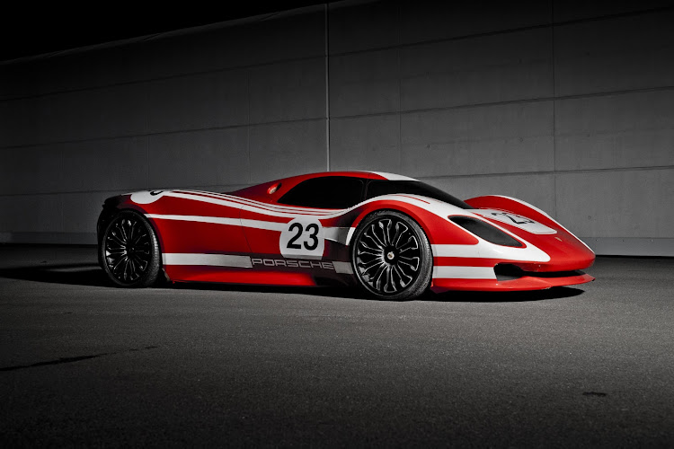 This Porsche 917 concept study will also go on show at the Porsche Museum.
