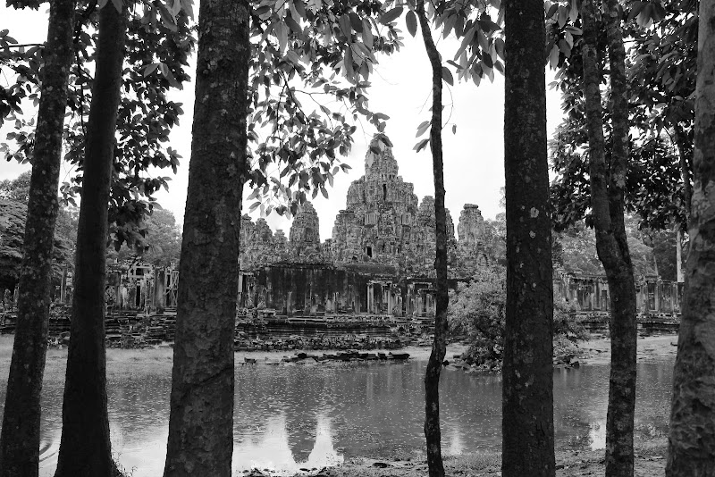 Pioggia nella giungla di Angkor di ManuelGoWest