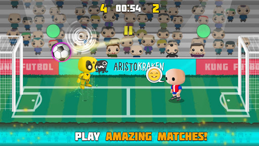 Kung Heads Football screenshot 3