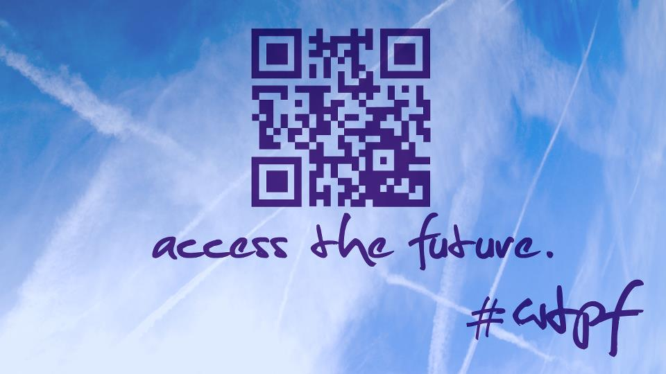 Photo: Access the World Telecommunication/ICT Policy Forum on the go!  Scan the QR code or visit http://m.itu.int/wtpf/ to access our #WTPF mobile optimized website for Apple iOS, Android, Microsoft Windows, and other tablet + smart-phone devices supporting web browsing.