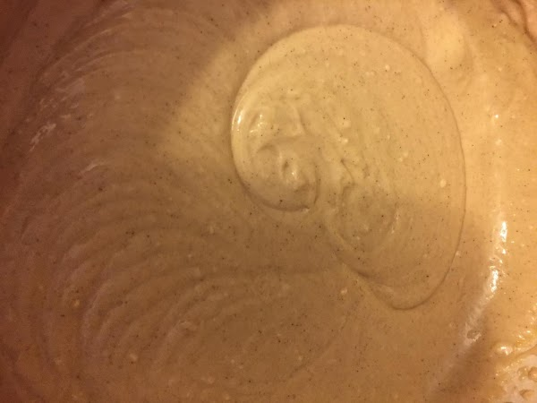 Measure out Kahlua and sour cream. Add about 1/3 of Kahlua to butter mixture...