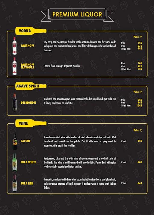 The Beer Cafe menu 16