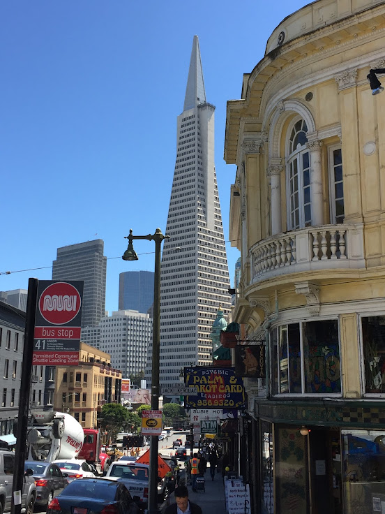 Columbus Avenue - Transamerica Building by Russ Caldwell