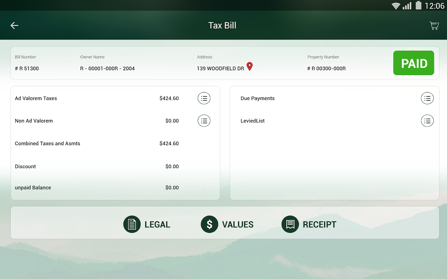 Hardee Tax Collector- screenshot