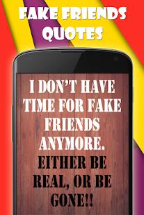 Fake Friends Quotes Aplikace Na Google Play