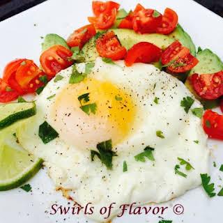 Avocado Lime Egg Breakfast.