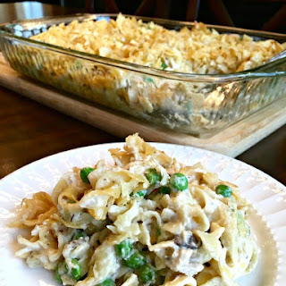 Old Fashioned Tuna Noodle Casserole.