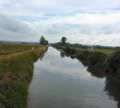 Photo: schade, kein Radweg an der Meuse
